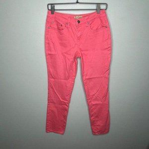 Earl Pink Ankle Jeans